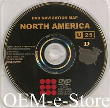 2004 to 2007 Toyota Land Cruiser Sequoia & LX470 Navigation DVD Map 2011 Update