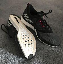 NIKE Zoom Grey/ Black Trainers Size 6.5 UK