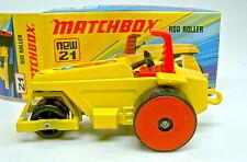 Matchbox Superfast Nr.21B Rod Roller gelb rote Heckrollen top in Box