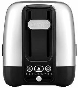 Dualit Domus 2 Slice Toaster 9 Levels Oversized Slots
