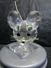 Swarovski Crystal Mouse  -  Beautiful  -  Retired  -  With Box