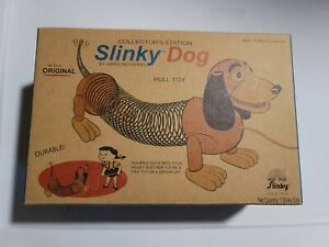 Slinky Dog Collector Edition Pull Toy By James Industries Ages 18 Months & Up