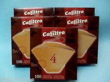 FILTRI CAFFE' MISURA N°4 CAFFE' AMERICANO CAFFE' D'ORZO 100pz *