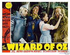 THE WIZARD OF OZ  LOBBY SCENE CARD # 4 POSTER 1939 DOROTHY COWARDLY LION