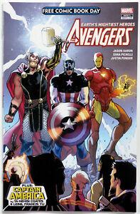 FCBD 2018 Avengers / Captain America - Marvel Comics - Jason Aaron - S Pichelli