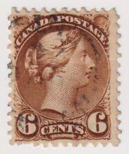 1873-1878 Canada - Queen Victoria - 6 Cent Stamp