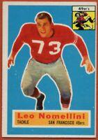 1956 Topps #74 Leo Nomellini EX-EXMINT San Francisco 49ers FREE SHIPPING