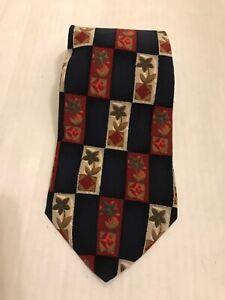 Authentic Gucci Men's 100% Silk Tie