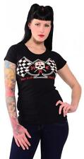 DTO. -20% ! CAMISETA CHICA / WOMEN T-SHIRT FLAGS BY HOTROD HELLCAT