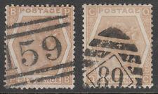 UK - Great Britain SG.123 - 6d. Pale-Buff (Plates 11/12) 1872 - £440