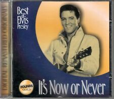 Elvis Presley  CD  IT'S NOW OR NEVER  /  BEST  OF  ZOUNDS  GOLD CD