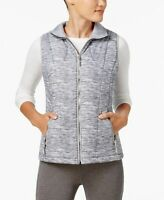 Ideology Womens Vest NWT Puffy Zip Up Quilted Performance Athletic Plus Size 2X