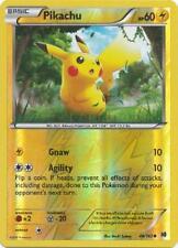 POKEMON Pikachu 48/162 - XY Breakthrough - Common Reverse Holo MINT/NM
