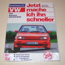 Tuning VW Golf II / VW Scirocco GTI / 16V / G60 - Jetzt mache ich ihn schneller!