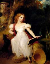 Westall Richard Queen Victoria As A Girl Print 11 x 14   #3612