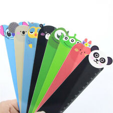 3pcs Cute Cartoon Animal Doll Series Pvc Ruler Bookmark 15 Cm Straight Ruler New