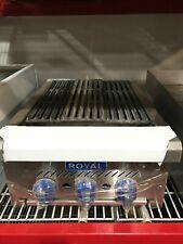 New American Made Royal Range 18 Nat Gas Radiant Broiler 37500 Btus Rsrb 18