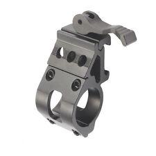 "Tactical 25.4mm 1"" Ring QD Side Offset 21mm Rail Scope Mount F Flashlight Torch"