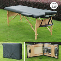 """2.5"""" Thick 91"""" Portable Massage Table Facial SPA Bed Tattoo w/ Carry Bag"""