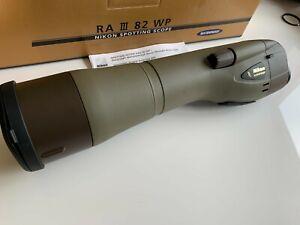 NIKON RAIII 82 WP Spotting scope with 20x eyepiece