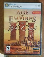 Age Of Empires 3 The War Chiefs Expansion FRENCH VERSION BRAND NEW SEALED