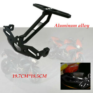 Motorcycle Adjustable License Plate Tail Light Holder Dual sport applications