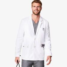 Nwt Men's Figs White Harlem Short Lab Coat Size Xl Retail $98