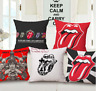 ROLLING STONES Cushion Covers! Red Lips and Tongue Retro Album Music 45cm Gift