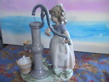 Lladro, Girl at Water Pump 5285, without the box. A-1 (26)