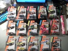 LOT OF 15 2013 MATCHBOX 1:64 IN PACKAGES JEEP BUS LAND ROVER SEA SPY ++