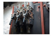 Old Electric Switch Gear Photographic Epson Print only (Unframed)