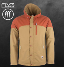 Fly53 Mens Small Tyrus Zipped Hooded Jacket - Was £73 - Brand New - FREE P&P