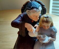 "Norman Rockwell figurine, ""The Handkerchief"""