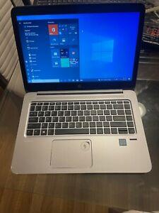 HP EliteBook Folio 1040 G3 i7-6600U@2.60GHz 8GB/ 240 ssd  Win10 pro.