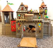 Playmobil grand Knight's Castle 3666/1993 presque complet médiévale vintage
