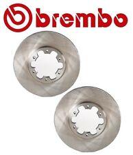 Brembo 25512 Pair Set of 2 Front Disc Brake Rotors Vented For Infiniti Nissan