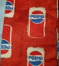 Stethoscope Cover - Pepsi cans on red