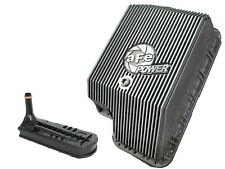 aFe Power Transmission Pan For 94-10 Ford Powerstroke Diesel F5R110 E4OD 4R100