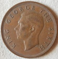 1951 New Zealand Half Penny