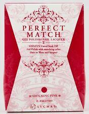 LeChat Perfect Match SHOCKING PINK #45 Gel Polish & Nail Lacquer PMS45