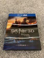 Harry Potter y las reliquias de la muerte, parte 1 y 2 [Blu-ray 3d]