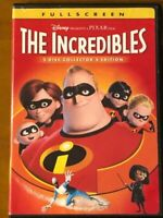 👑 Disney Pixar - The Incredibles - Full Screen 2 Disc Collector's Edition 👑