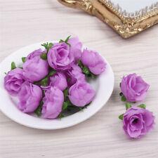 100 PCS Silk Rose Artificial Flowers Heads Bulk DIY home Wedding Party Decors