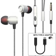 HI-FI SOUND HANDS-FREE HEADSET EARPHONES MIC EARBUDS for MOTOROLA MOTO Z PHONES