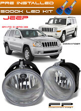 LED + 2005-2010 Jeep Grand Cherokee 2006-2010 Commander Replacement Fog Light