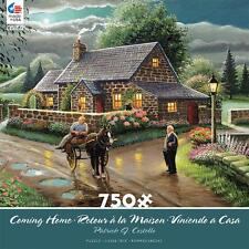 CEACO COMING HOME PUZZLE LAKESIDE COTTAGE PATRICK J COSTELLO 750 PCS #2927-3