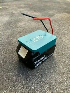 Makita 18v Battery DIY Adaptor/Base Plate with On/Off Switch, *Mel STOCK