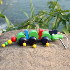 Wooden Pull Along Crocodile Toy - Beautiful Crocodile Pull Along Toy For Baby US