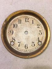 ANTIQUE SESSIONS TAMBOUR MANTLE CLOCK DIAL