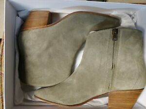 Isabel Marant Dacken boots taupe suede 39
